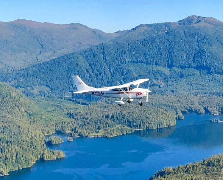 Cross country fly trip from San Diego to Alaska